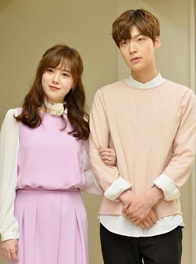 Goo Hye Sun và Ahn Jae Hyun. Ảnh: Dispatch.