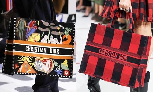 Thiết kế mang khổ rộng 32 cm, được xử lý bằng chất liệu canvas và một số hiếm được làm từ da bê. Qua các mùa mốt Xuân Hè 2018 đến Thu Đông 2019, mẫu túi tote ra mắt nhiều phiên bản với bamẫu họa tiết chủ đạo: họa tiết Oblique kinh điển của Dior trong những năm cuối thế kỷ 20đầu thế kỷ 21, họa tiết kẻ ô vuông và họa tiết phong cảnhnhiều màu.Vogue đánh giá thiết kế mang vẻ đẹp thanh lịch, dễ ứng dụng, phù hợp với nhiều phong cách thời trang. Chiếc túi của nhà mốt Pháp có giá dao động từ 2.650 USD (61,6 triệu đồng) đến 3.700 USD (hơn 86 triệu đồng) tùy vào chất liệu, họa tiết. Ảnh:Indigital.