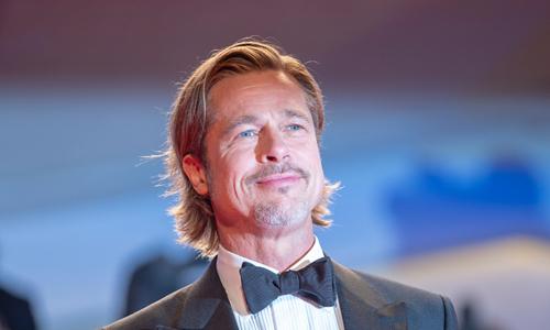 Tài tử Brad Pitt tại LHP Venice. Ảnh: Shutter Stock.