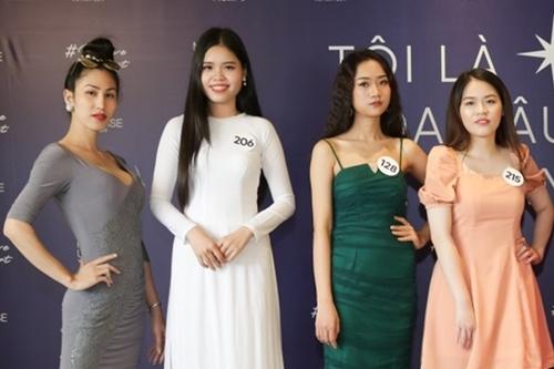 Trần Nhật Linh, thí sinh chuyển giới duy nhất của vòng casting (trái).