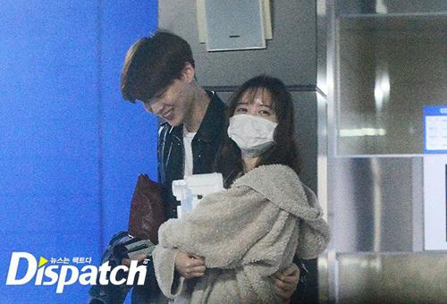 Đầu năm 2016, trang Dispatch tung loạt ảnh Goo Hye Sun - Ahn Jae Hyun bí mật đi chơi cùng nhau.
