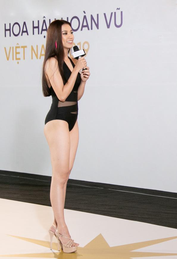 Hình thể của dàn thí sinh Miss Universe Vietnam