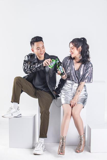 JustaTee, Phương Ly hợp tác với nhóm Clean Bandit