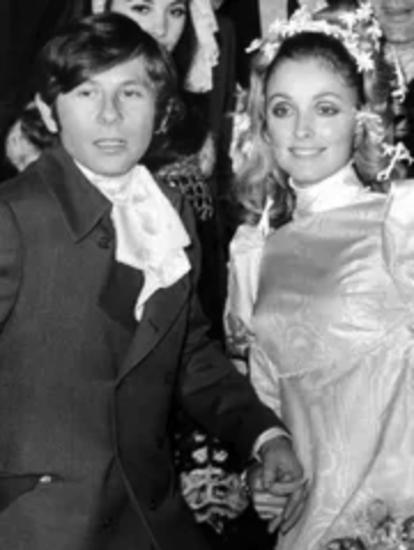 Roman Polanski và Sharon Tate cưới năm 1968. Ảnh: AFP.