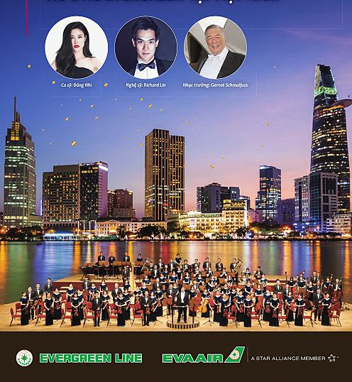 Đêm nhạc giao lưu văn hóa Việt – Đài, với sự góp mặt của dàn nhạc giao hưởng trứ danh Evergreen lần đầu biểu diễn tại Việt Nam