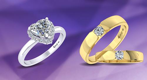 Nhẫn cưới Wedding Land không chỉ mang ý nghĩa khởi đầu cho gắn kết vợ chồng, còn là món đồ thời trang xuất hiện cùng phong cách hàng ngày của cô dâu và chú rể.