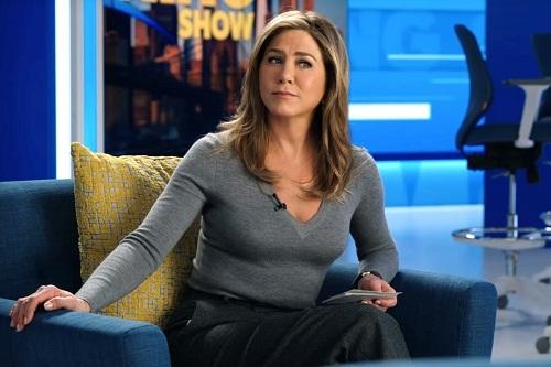 Jennifer Aniston, 50 tuổi, trong phim mới. Ảnh: Apple TV+.