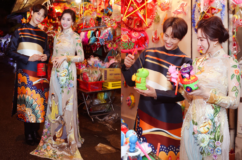 Hari Won và thành viên nhóm nhạc SS501 Hàn Quốc - Park Jung Min - thân nhau khi tham gia chung dự án điện ảnh Oppa, phiền quá nha sắp ra rạp. Nhân mùa trung thu, cô rủ thành viên của nhóm nhạc SS501 khám phá những con phố lồng đèn sắc màu của Việt Nam.