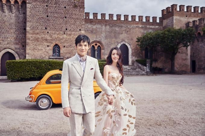 Ảnh cưới của con trai 'Trùm showbiz' Hong Kong