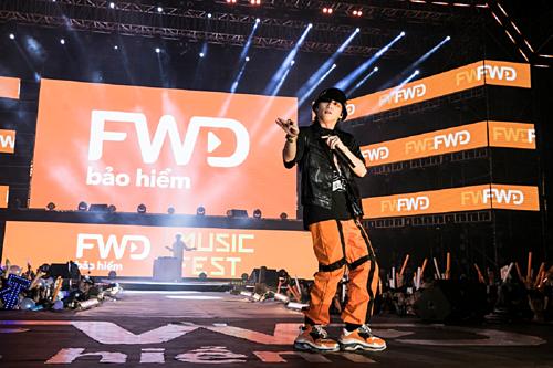 Sơn Tùng M-TP sẽ tiếp tục đồng hành vớiFWD Music Fest tại sân vận động Mỹ Đình ngày 26/10.