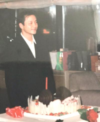 Đường Hạc Đức đăng ảnh Trương Quốc Vinh.