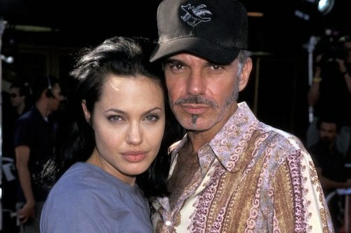 Billy Bob Thornton và Angelina Jolie. Ảnh: WiredImage.