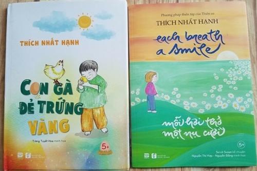 Hai tác phẩm đoạt giải Sách hay 2019 của thiền sư Thích Nhất Hạnh.