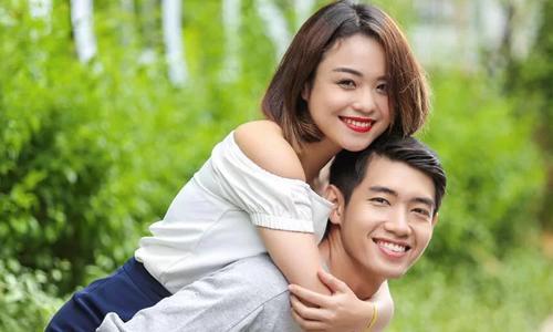 Thái Trinh và Quang Đăng từng là cặp đẹp đôi trong mắt khán giả. Ảnh: T.T.