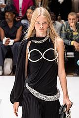 Đầm thắt dây hình bộ ngực
