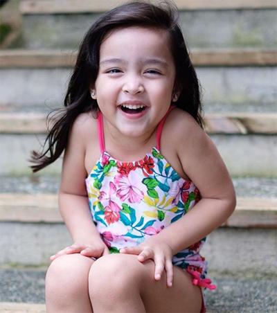Hai con củaMỹ nhân đẹp nhất Philippines - 6