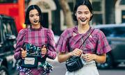 Thời trang đường phố ở London Fashion Week