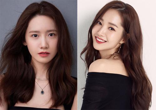 Các người đẹp Yoona, Park Min Young. Ảnh: News1.