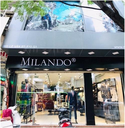 Thời trang nam Milando khai trương tại TP HCM