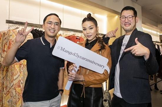 Riêng với Thanh Hằng, cô cũng cho biết bản thân rất vui và hạnh phúc khi được Mango chọn là đại sứ đầu tiên của thương hiệu này.