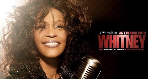 Ảnh giới thiệu sự kiện (trang Whitney Houston).