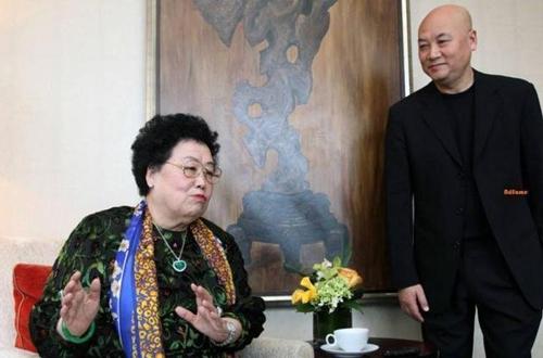 Vợ chồng Trần Lệ Hoa và Trì Trọng Thụy. Ảnh: Sina.