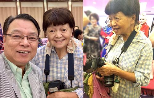 Đạo diễn Lý Lực Trì (trái)và bà Châu Thông Linh. Lý Lực Trì từng đạo diễn các phim hài Châu Tinh Trì đóng chính như Đường Bá Hổ điểm Thu Hương, Thực thần, Đội bóng Thiếu Lâm...