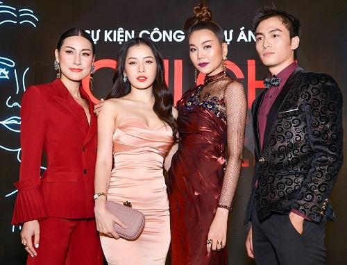 Từ trái sang: Kathy Uyên, Chi Pu, Thanh Hằng, Lãnh Thanh. Ảnh: CGV.