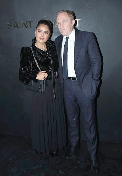 Diễn viên Salma Hayek bên chồng tỷ phú François-Henri Pinault.