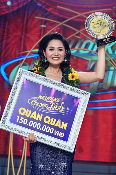Duyên Quỳnh đoạt quán quân Người kể chuyện tình mùa ba.