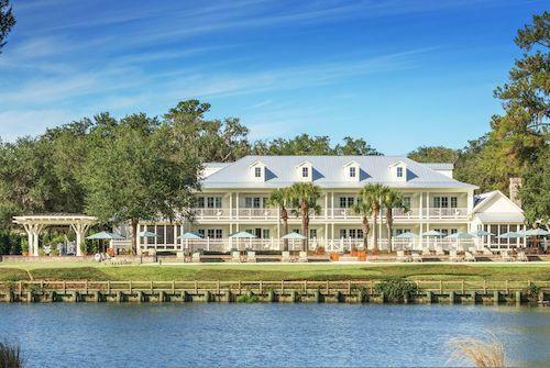 Khách sạn Montage Palmetto Bluff - nơi Justin và Hailey tổ chức tiệc cưới. Ảnh: Wexas.