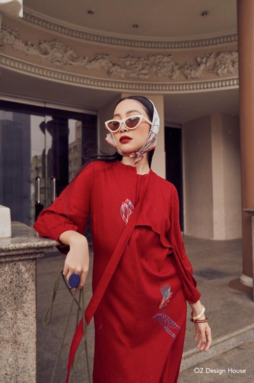 Linh Nga làm nàng thơ cho Oz Design House - 3