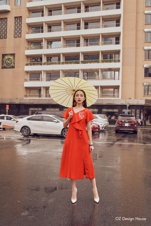 Linh Nga làm nàng thơ cho Oz Design House - 2