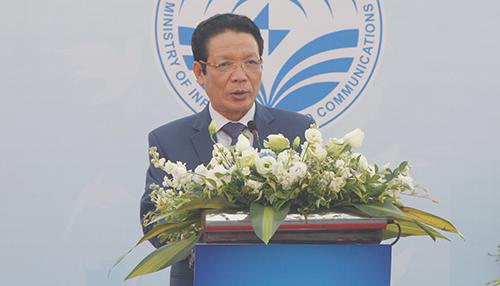 Ông Hoàng Vĩnh Bảo - Thứ trưởng Bộ Thông tin và Truyền thông.