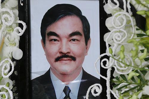 Di ảnh nghệ sĩ Thế Anh. Ảnh: Trần Quỳnh.