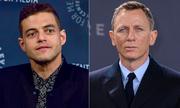 Daniel Craig hôn Rami Malek