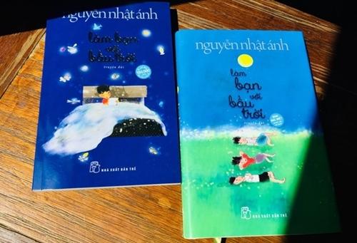 Sách mới của Nguyễn Nhật Ánh - Làm bạn với bầu trời.
