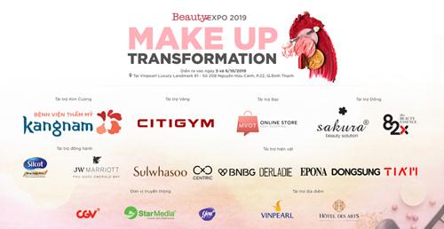 9 thí sinh trang điểm trên sân khấu Makeup Transformation