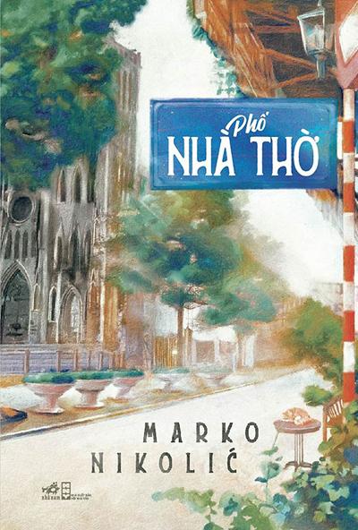 Bìa sách Phố Nhà Thờ.