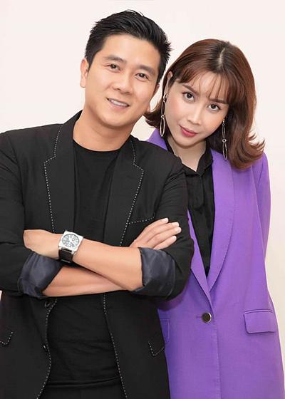 Vợ chồng Hồ Hoài Anh - Lưu Hương Giang. Ảnh: LHG.