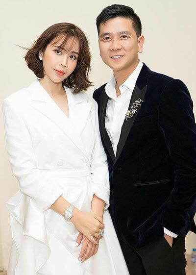 Vợ chồng Hồ Hoài Anh.