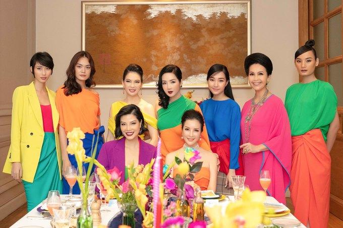 Sao Việt phối đồ đa sắc của Đỗ Mạnh Cường