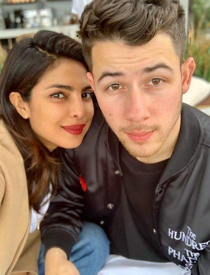 Priyanka Chopra và chồng Nick Jonas. Ảnh: Instagram.