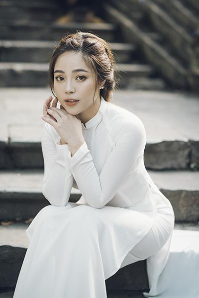 Ca sĩ Mai Diệu Ly. Ảnh: Hòa Nguyễn.