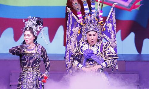 Kim Tử Long, Ngọc Huyền tái hợp trên sân khấu.