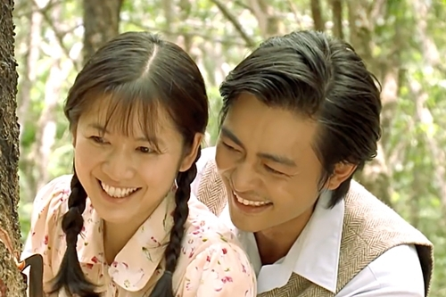 Chuyện tình Phượng và Hai Bình là tâm điểm của phim những tập gần đây. Ảnh: HA.