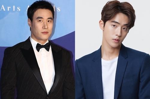 Bae Sung Woo và Nam Joo Hyuk (phải) góp mặt trong phim mới.