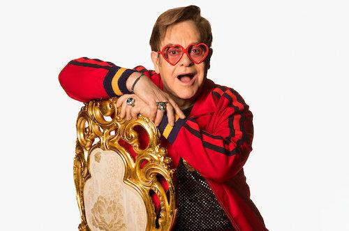 Nam ca sĩ Elton John. Ảnh: Billboard.