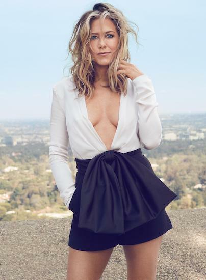 Minh tinh Jennifer Aniston ở tuổi 50. Ảnh: Shape.