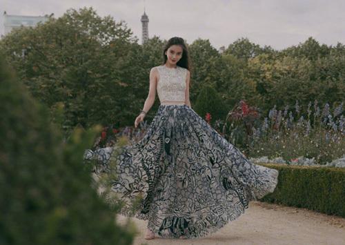 Angelababy - đại sứ của Dior tại Trung Quốc. Ảnh: Dior.